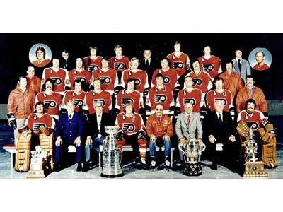Silverware -- 1974-75 Stanley Cup Winner -- Philadelphia Flyers ... 5154233a6