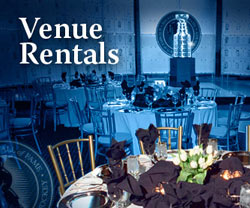 Find out about renting the facilities at the Hockey Hall of Fame