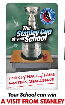 Hockey Hall of Fame Writing Challenge - The Stanley Cup at your School