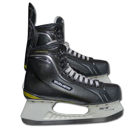 Zdeno Chara's Skates worn by the Bruins captain during the 2011 Stanley Cup Final.