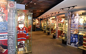 The Via Rail Stanley Cup Dynasties Zone includes reverent displays to the rosters of nine franchises which lorded over the NHL for extended periods of time.