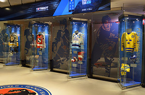 The New Acquisitions display offers visitors a sneak peak of the artifacts that were recently added to the Hockey Hall of Fame's magnificent collection.