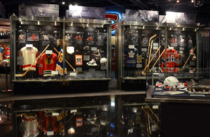 The Honda NHL Zone features some of the most important artifacts in NHL history.