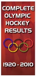 Visit our Time Capsule section and get complete historical Men's and Women's Olympic Hockey results