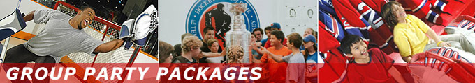 Hockey Hall of Fame Group Party Package