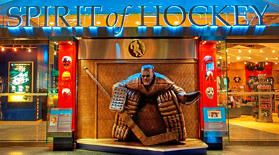 Hockey Hall of Fame's Spirit of Hockey Gift Store