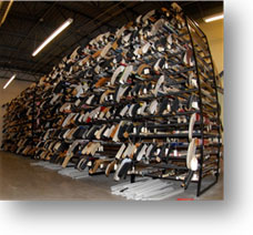 The D.K. Doc Seaman Hockey Resource Centre is home to the largest hockey stick storage facility in the world.