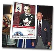 Teeder Kennedy appeared at the July 5th Legends of Hockey Fan Forum