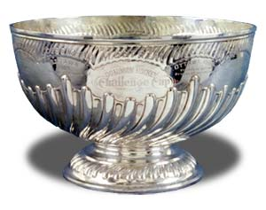 The original Stanley Cup started life as a punchbowl