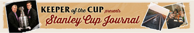 Keeper of the Cup presents Stanley Cup Journal