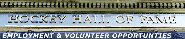 Employment & Volunteer Opportunties