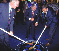 Launch of the Tissot World of Hockey Zone