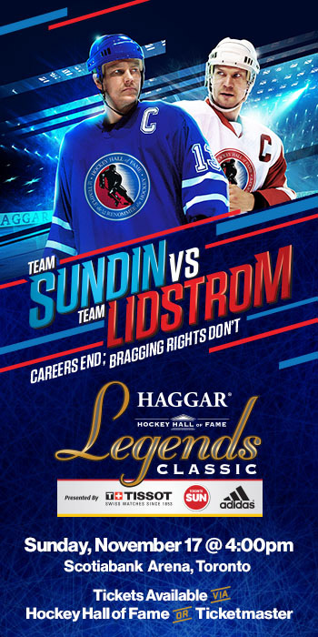 Hockey Hall of Fame 2019 Haggar Legends Classic