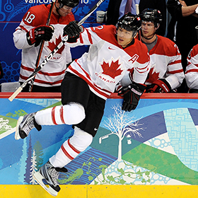 Iginla donned Canada's maple leaf at the Winter Olympics, World Championships, and World Junior tournament