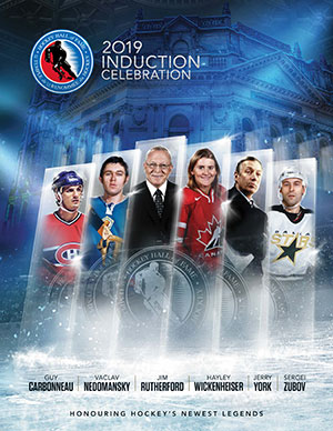 2019 Hockey Hall of Fame Induction Celebration