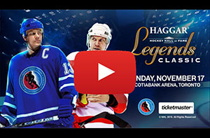 Haggar 2019 Hockey Hall of Fame Legends Classic Video Preview
