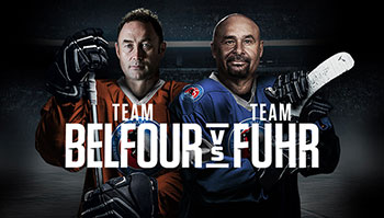 Team Belfour vs Team Fuhr