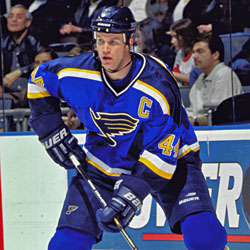 Pronger was named captain of the St. Louis Blues in 1997. 6c9719b9a