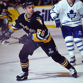 Zubov played with the Pittsburgh Penguins for one season before joining the Dallas Stars (Doug MacLellan/HHOF).