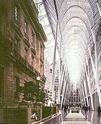 BCE Place Galleria and Heritage Square