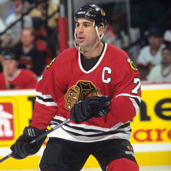 Chelios would star for the Chicago Blackhawks for nine seasons.