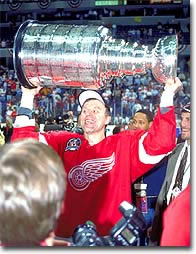 Two Stanley Cups with Detroit capped off a stellar international career for Viacheslav Fetisov.