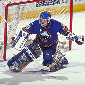Hasek joined the Buffalo Sabres in 1992 and quickly emerged as one of the league's top goaltenders.