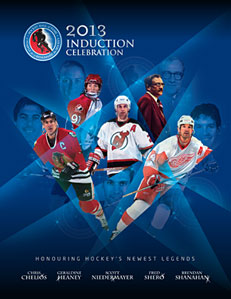 2013 Hockey Hall of Fame Induction Celebration