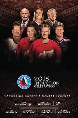2015 Hockey Hall of Fame Induction Celebration