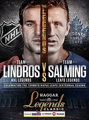 Lindros vs Salming
