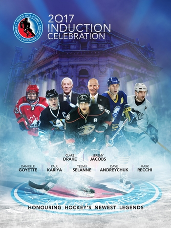 2017 Hockey Hall of Fame Induction Celebration