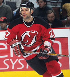 Scott Niedermayer joined the New Jersey Devils for four games during the  1991-92 season 059b5dee7
