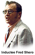 Inductee Fred Shero