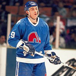 Joe Sakic made his NHL debut with the Quebec Nordiques on October 6, 1988.
