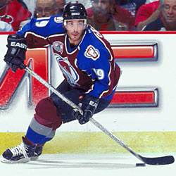 Sakic served as the captain of the Nordiques/Avalanche franchise for 17 seasons, making him the second longest serving captain in NHL history.