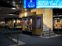 The newly expanded Tissot World of Hockey Zone celebrates the game of hockey globally