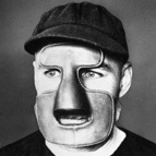 Mask worn by Clint Benedict of the Montreal Maroons