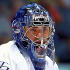 Mask worn by Curtis Joseph of the Toronto Maple Leafs
