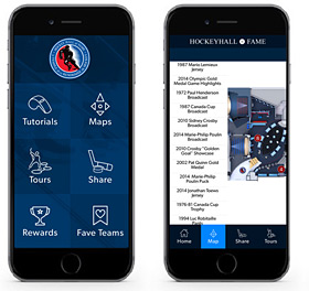 Hockey Hall of Fame Personalized Tour App