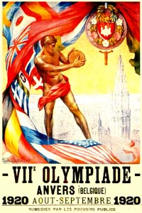 Olympic Winter Games 1920 Poster