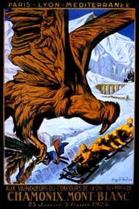 Olympic Winter Games 1924 Poster
