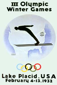 Olympic Winter Games 1932 Poster