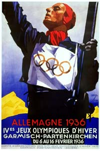 Olympic Winter Games 1936 Poster
