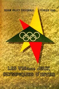 Olympic Winter Games 1960 Poster