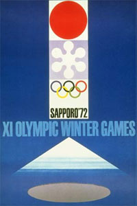 Olympic Winter Games 1972 Poster
