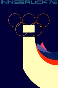 Olympic Winter Games 1976 Poster