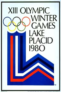 Olympic Winter Games 1980 Poster