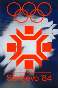 Olympic Winter Games 1984 Poster