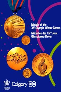 Olympic Winter Games 1988 Poster