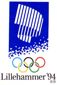 Olympic Winter Games 1994 Poster